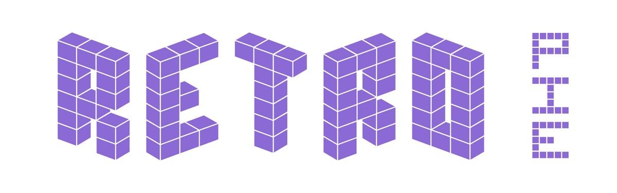 Retropie – RETRO – ROMS Retina Logo